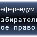 Развитие института референдума в современной России